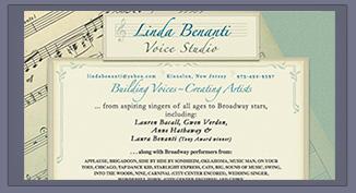Linda Benanti Voice Studio _ Lois Reed Designs