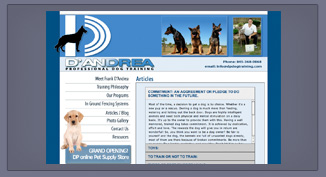 DP Dog Training _ Lois Reed Designs