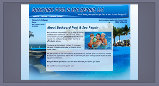 Backyard Pool & Spa Repair _ Lois Reed Designs