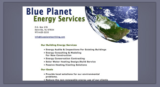 Blue Planet Energy Services